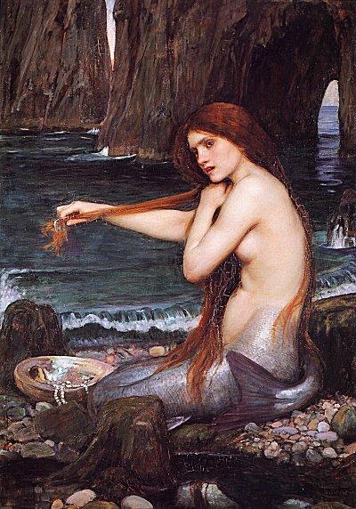 mermaids are real. Disney has made the Mermaid